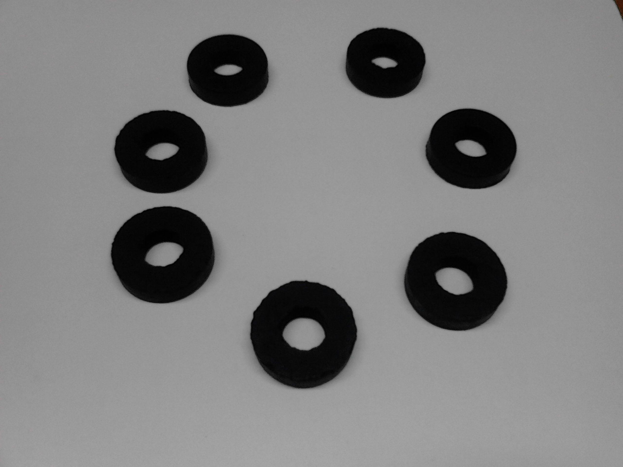 kit 7 pezzi parastrappi ingranaggio catena per moto guzzi galletto