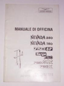 Manuale d'officina x Nevada 350-750, 750 SP